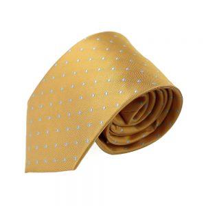 corbata armando lunares mostaza