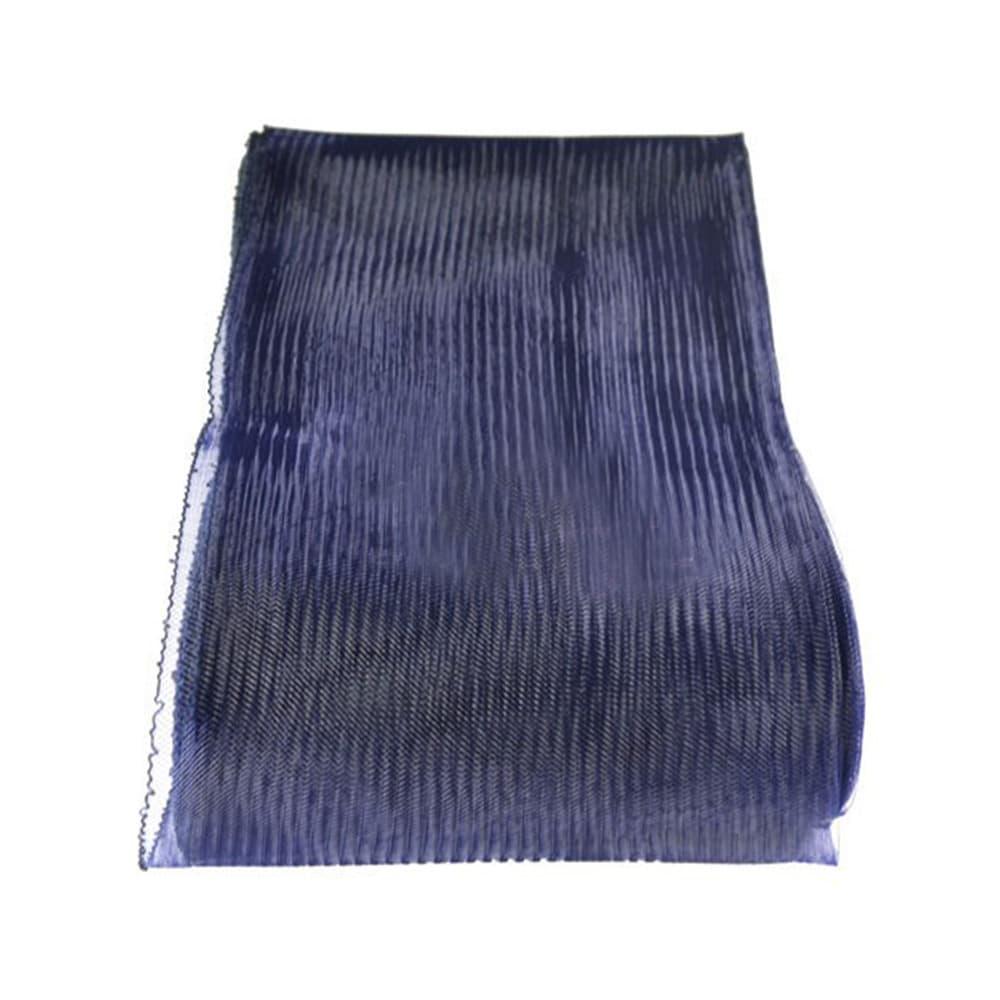 crin liso con hilo 15 cm azul marino