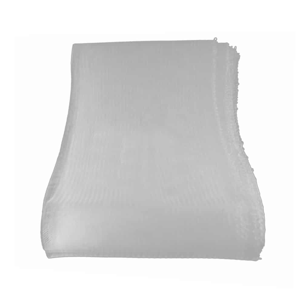 crin liso con hilo 15 cm blanco