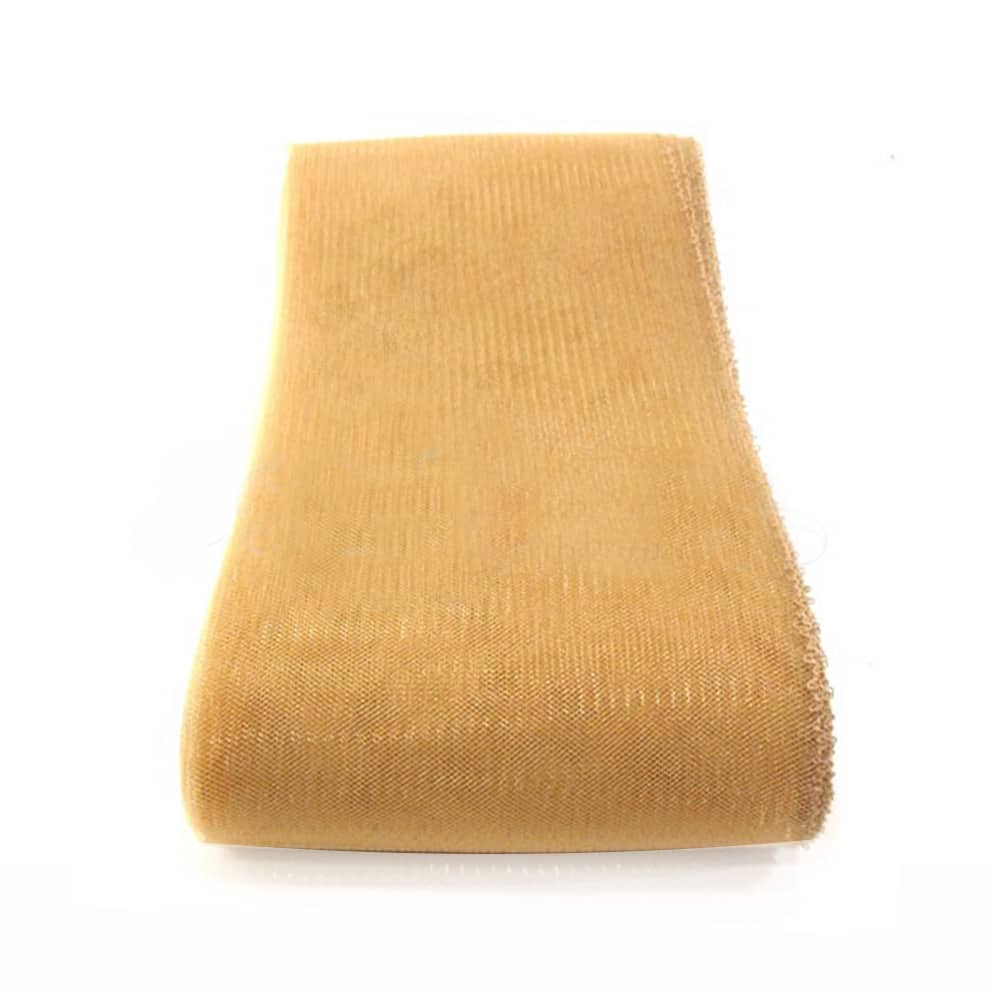 crin liso con hilo 15 cm oro viejo