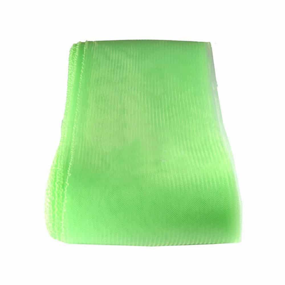 crin liso con hilo 15 cm verde claro
