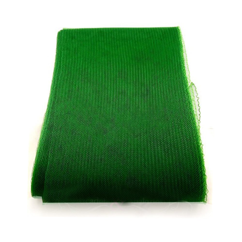 crin liso con hilo 15 cm verde jungla