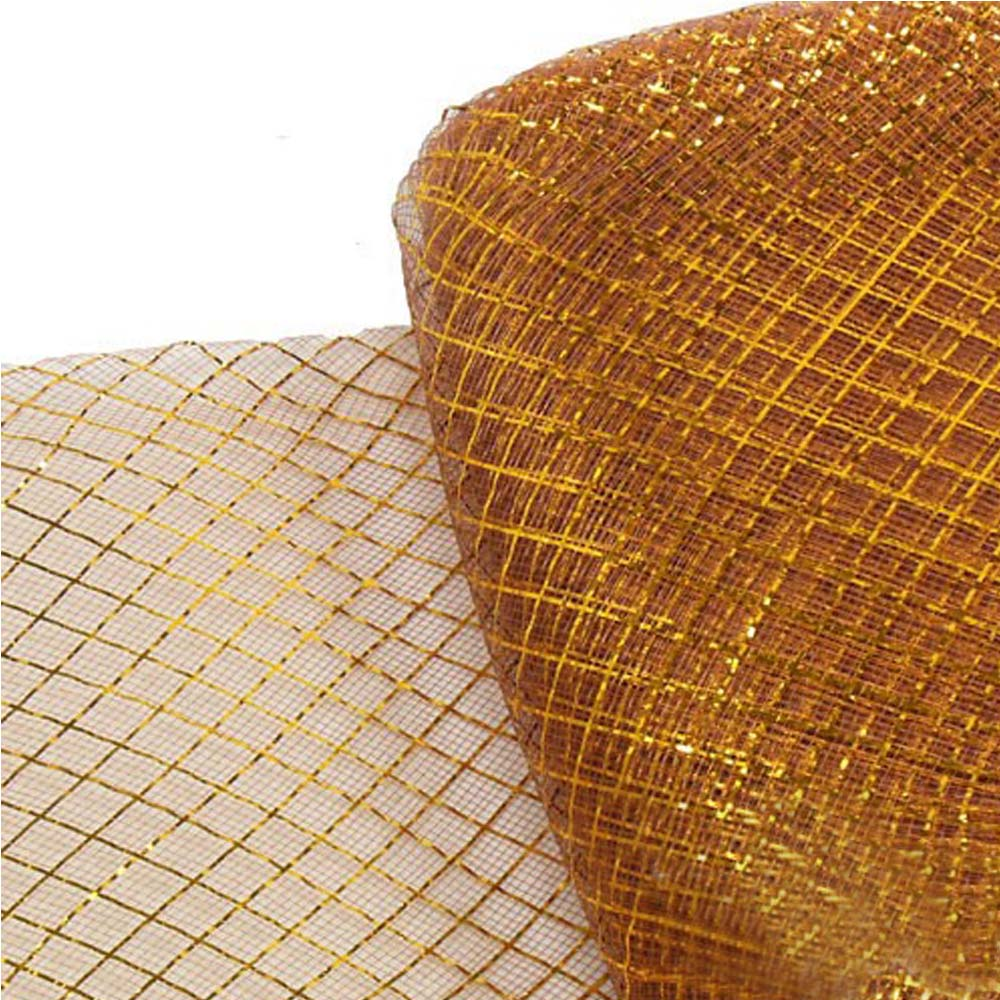 crin rombo metalizado 16 cm cobre