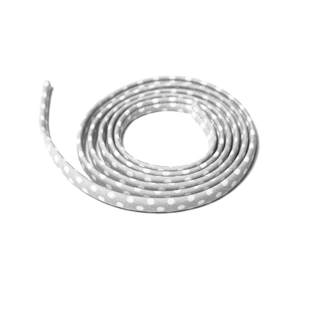 espagueti lunares 7 mm gris claro