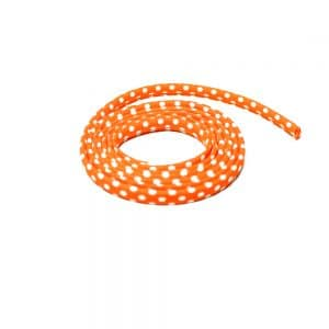 espagueti lunares 7 mm naranja