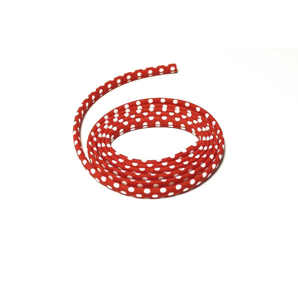 espagueti lunares 7 mm rojo