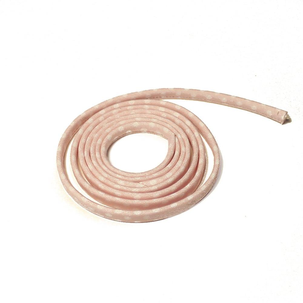 espagueti lunares 7 mm rosa