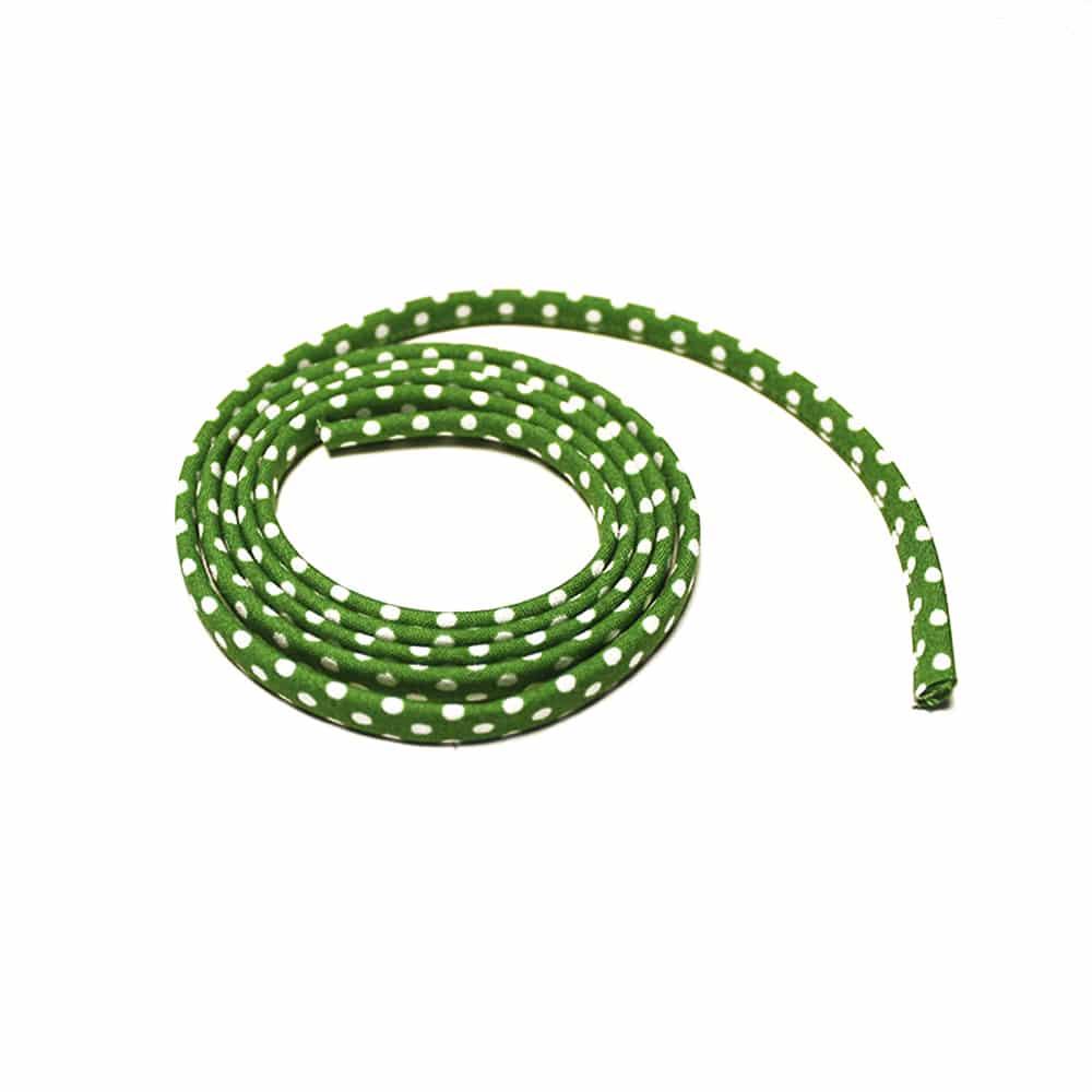 espagueti lunares 7 mm verde jungla