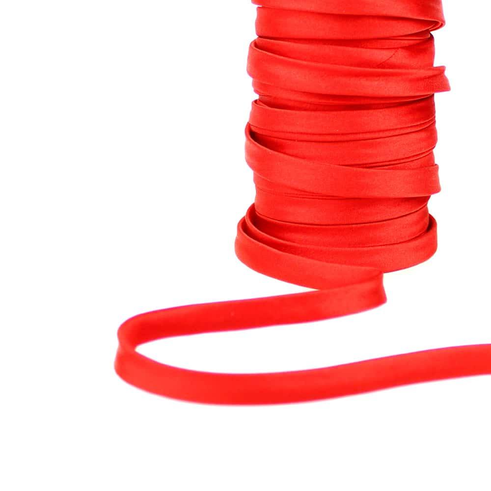 espagueti raso 10 mm rojo