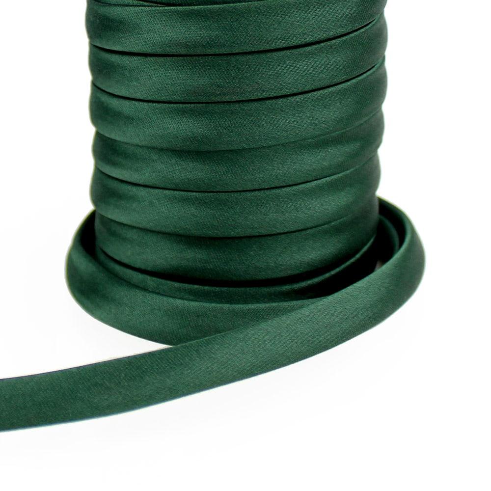 espagueti raso 10 mm verde botella