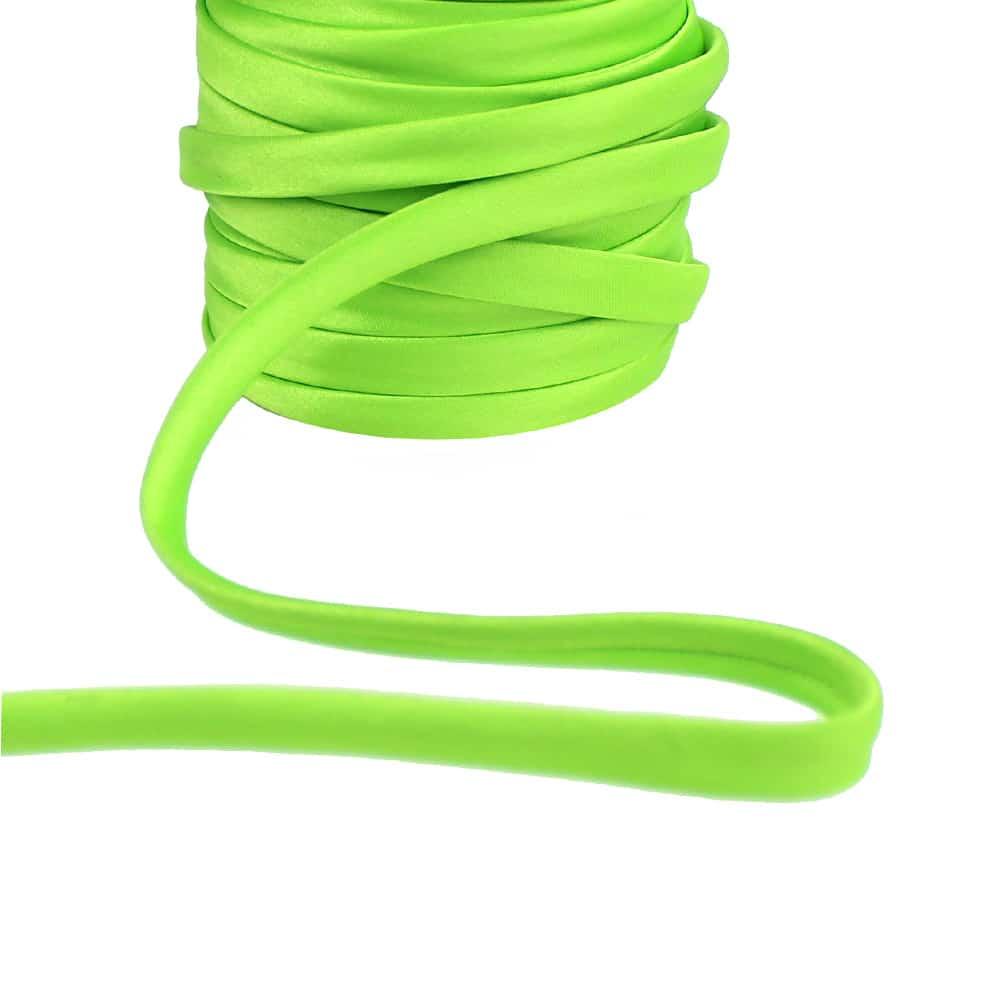 espagueti raso 10 mm verde medio