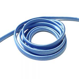 espagueti raso 7 mm azul claro