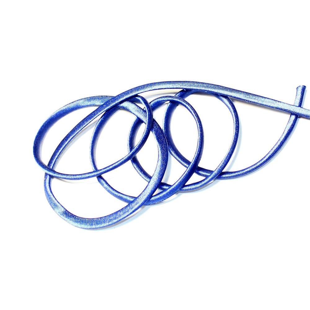 espagueti raso 7 mm azul oscuro