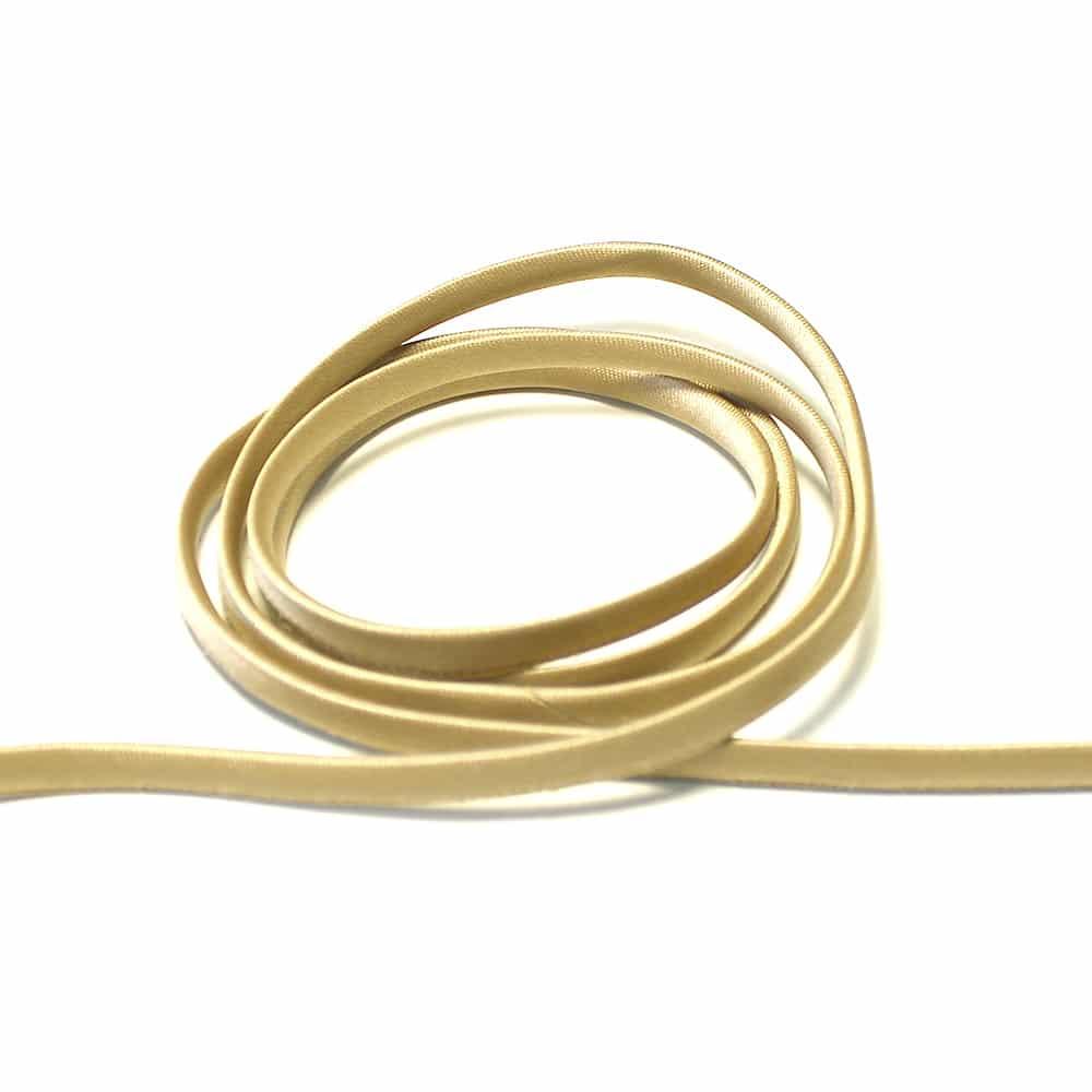 espagueti raso 7 mm marron claro