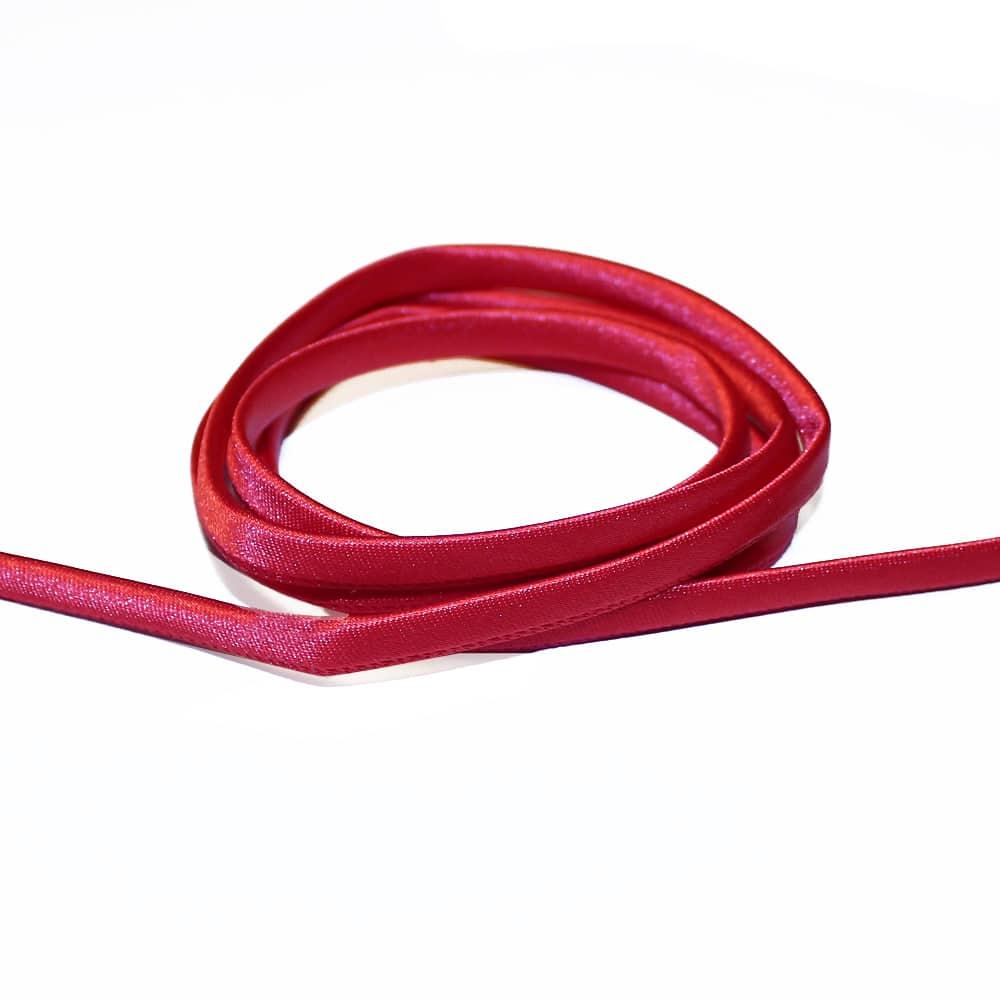 espagueti raso 7 mm rojo