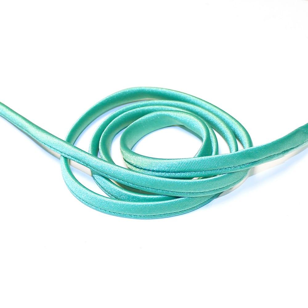 espagueti raso 7 mm verde jungla