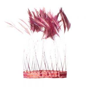 fleco antena gallo 12 cm vino