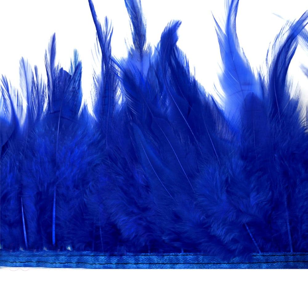 fleco plumas de gallo azul klein