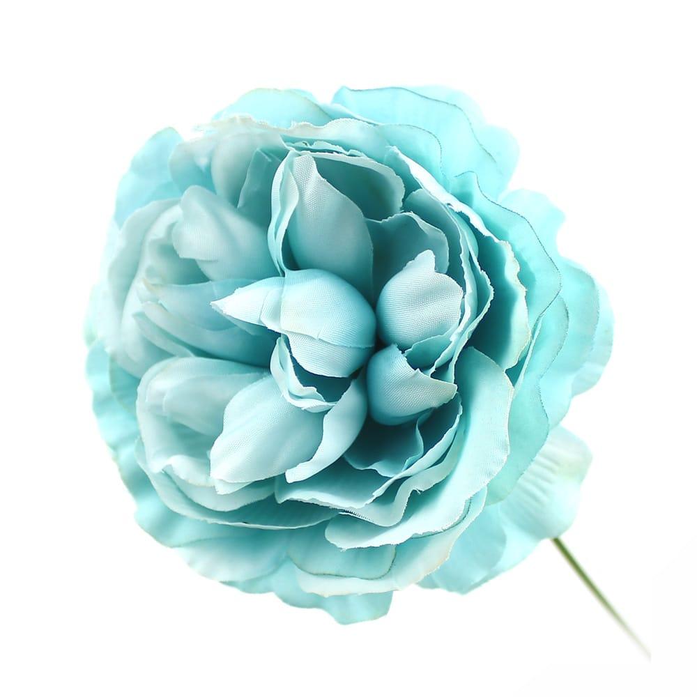 flor amanda turquesa