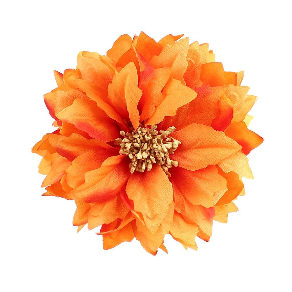 flor andrea naranja