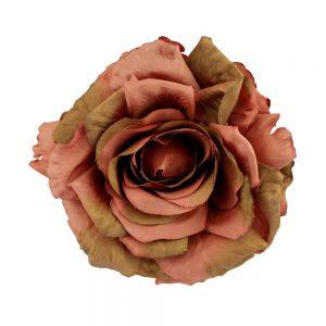flor aramea bronce