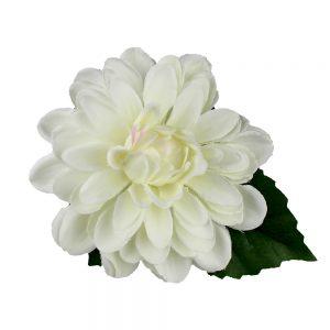 flor elena 10 cm blanco