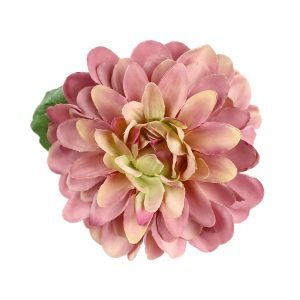 flor elena 10 cm rosa maquillaje