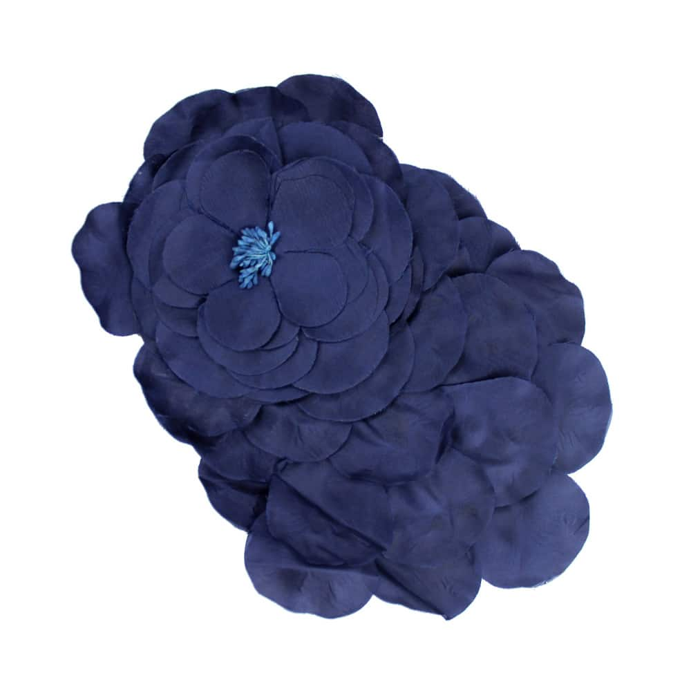 flor frida azul marino