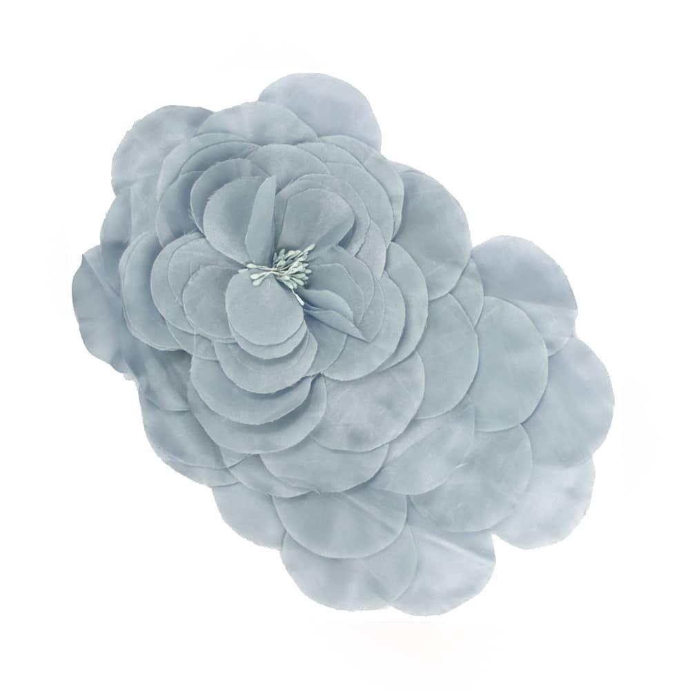 flor frida gris plata