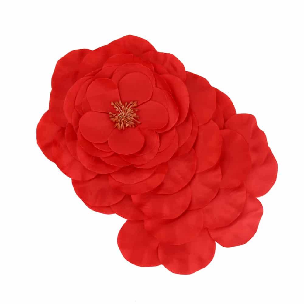 flor frida rojo