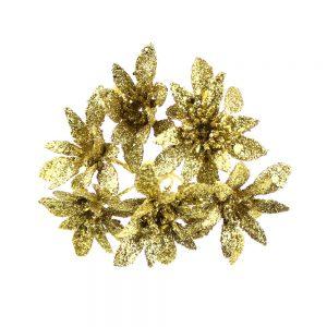 flor lurex caulerpa oro