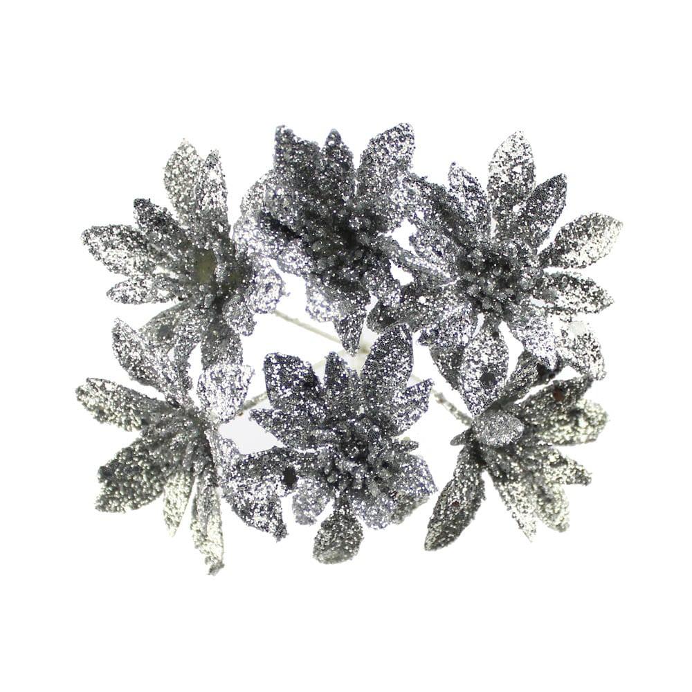 flor lurex caulerpa plata