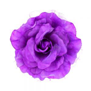 flor micaela 16 cm morado