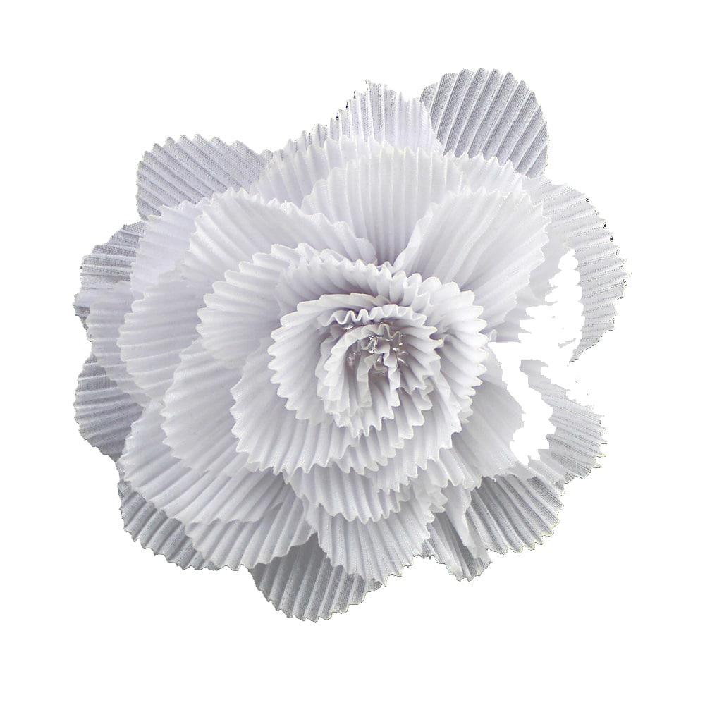 flor plisada 11 cm