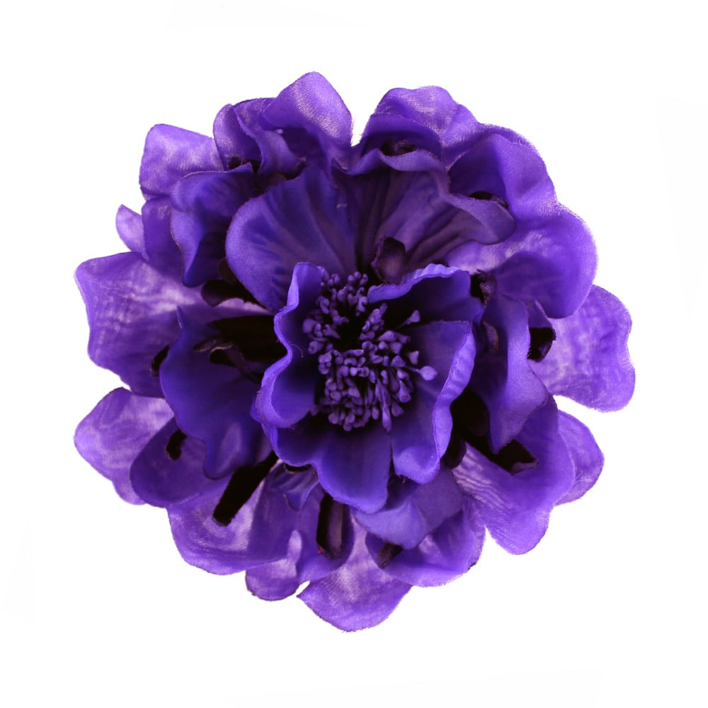 flor smeralda morado