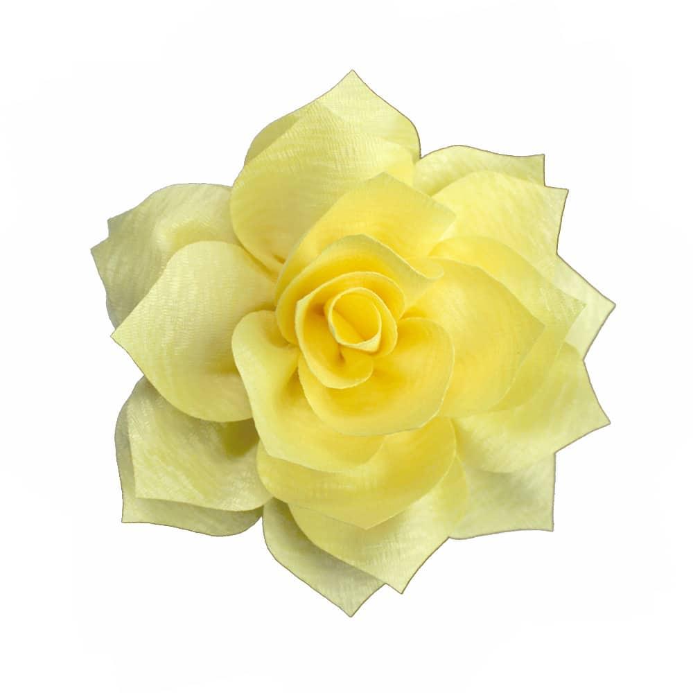 flor stella amarillo
