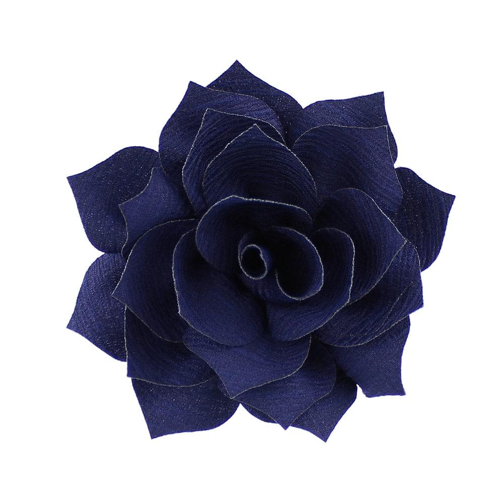 flor stella azul marino