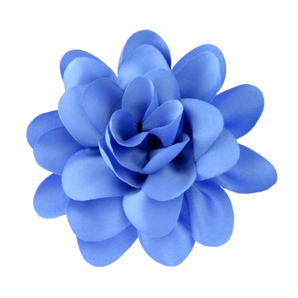 florecillas 10 cm azul claro