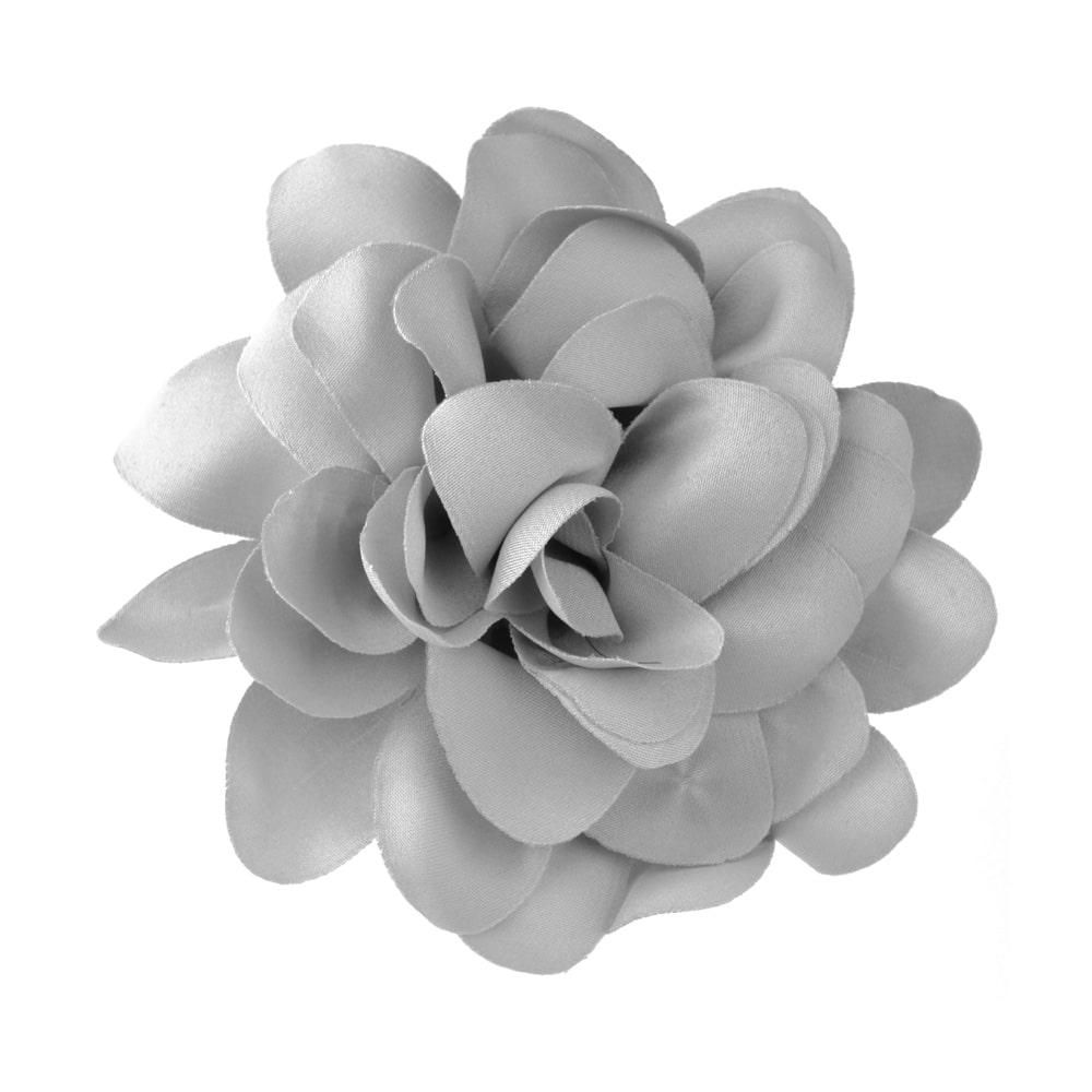 florecillas 10 cm gris medio