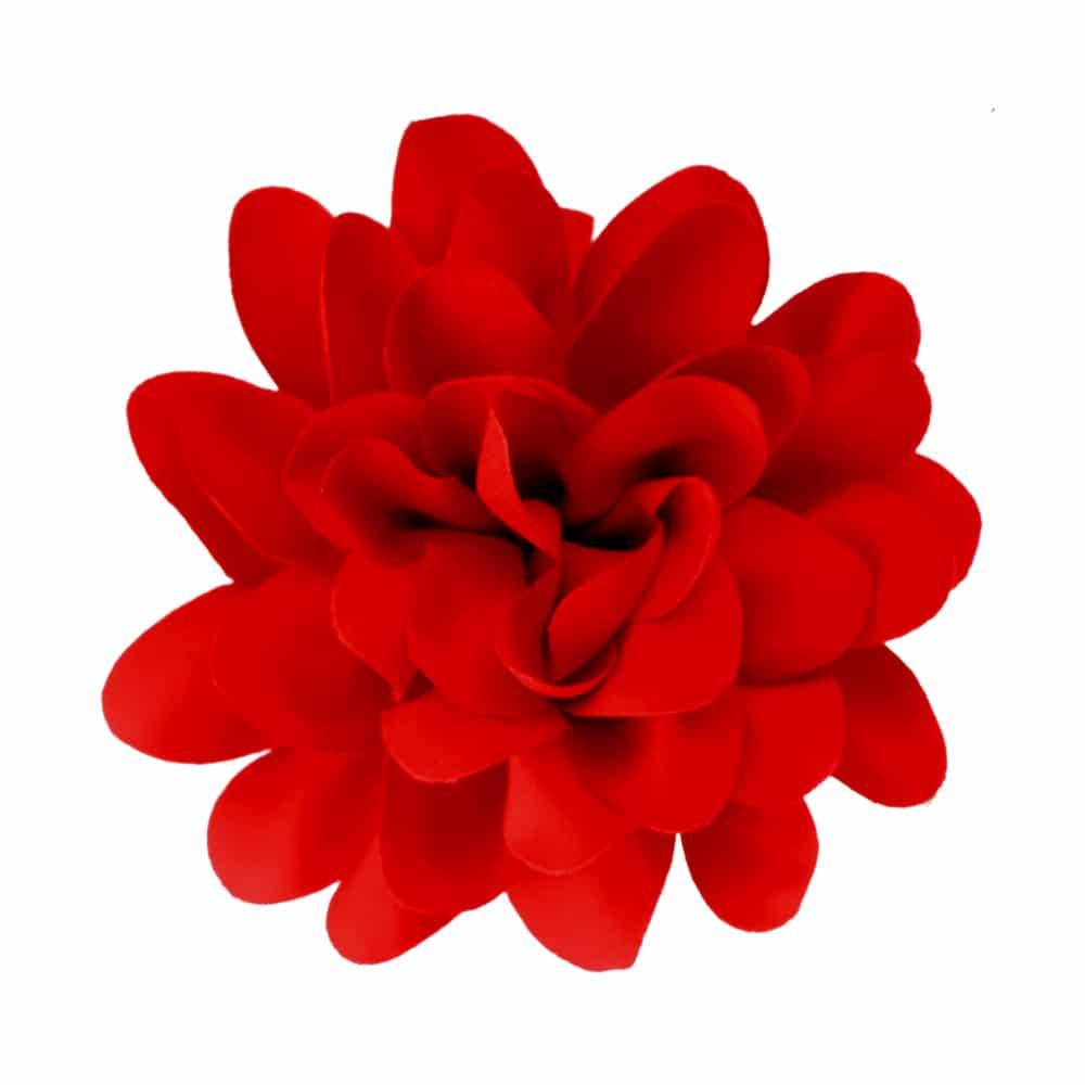 florecillas 10 cm rojo