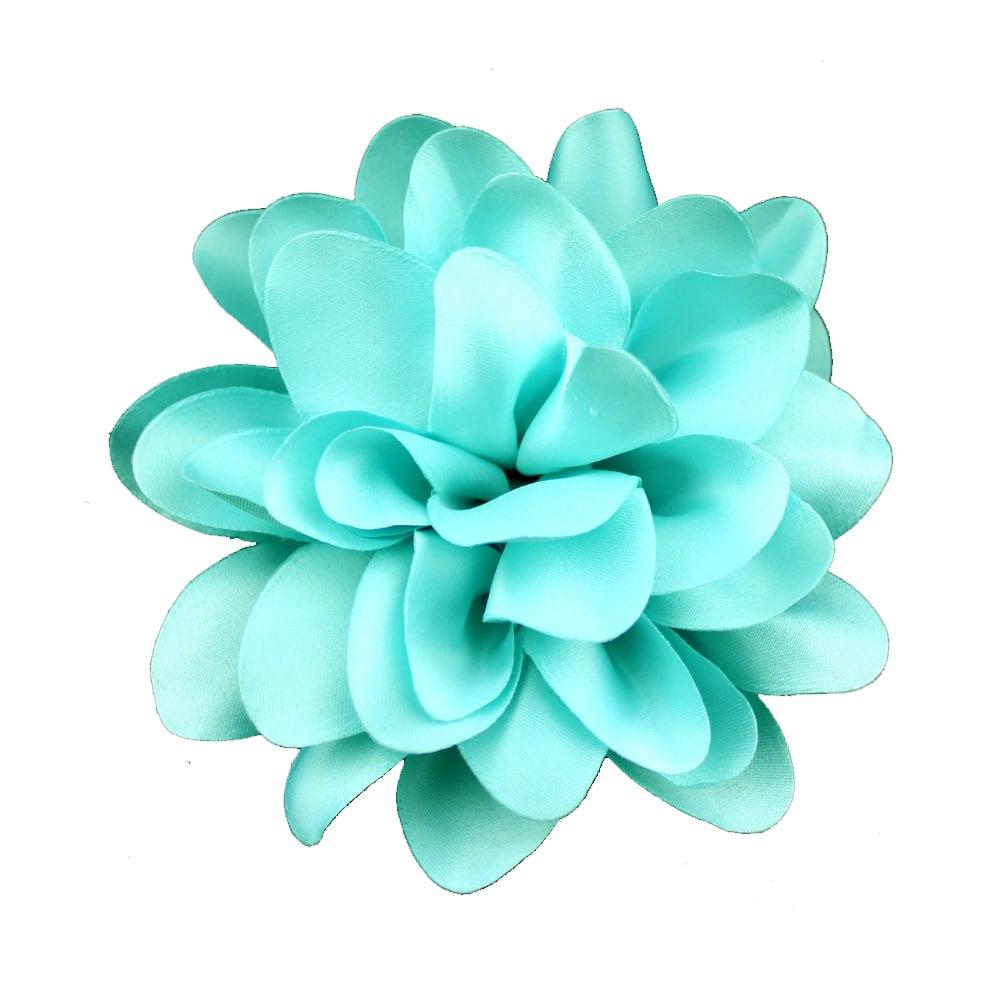 florecillas 10 cm turquesa