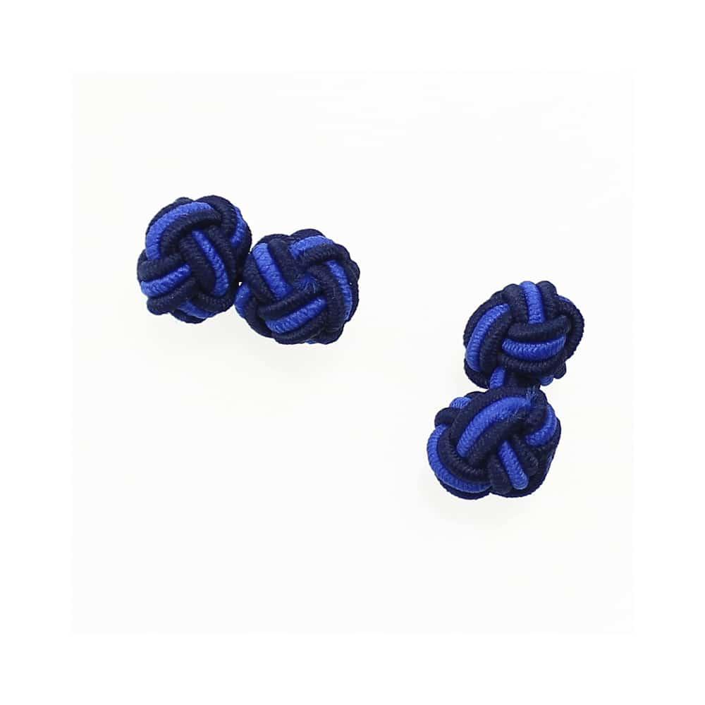 gemelos bola azul marino