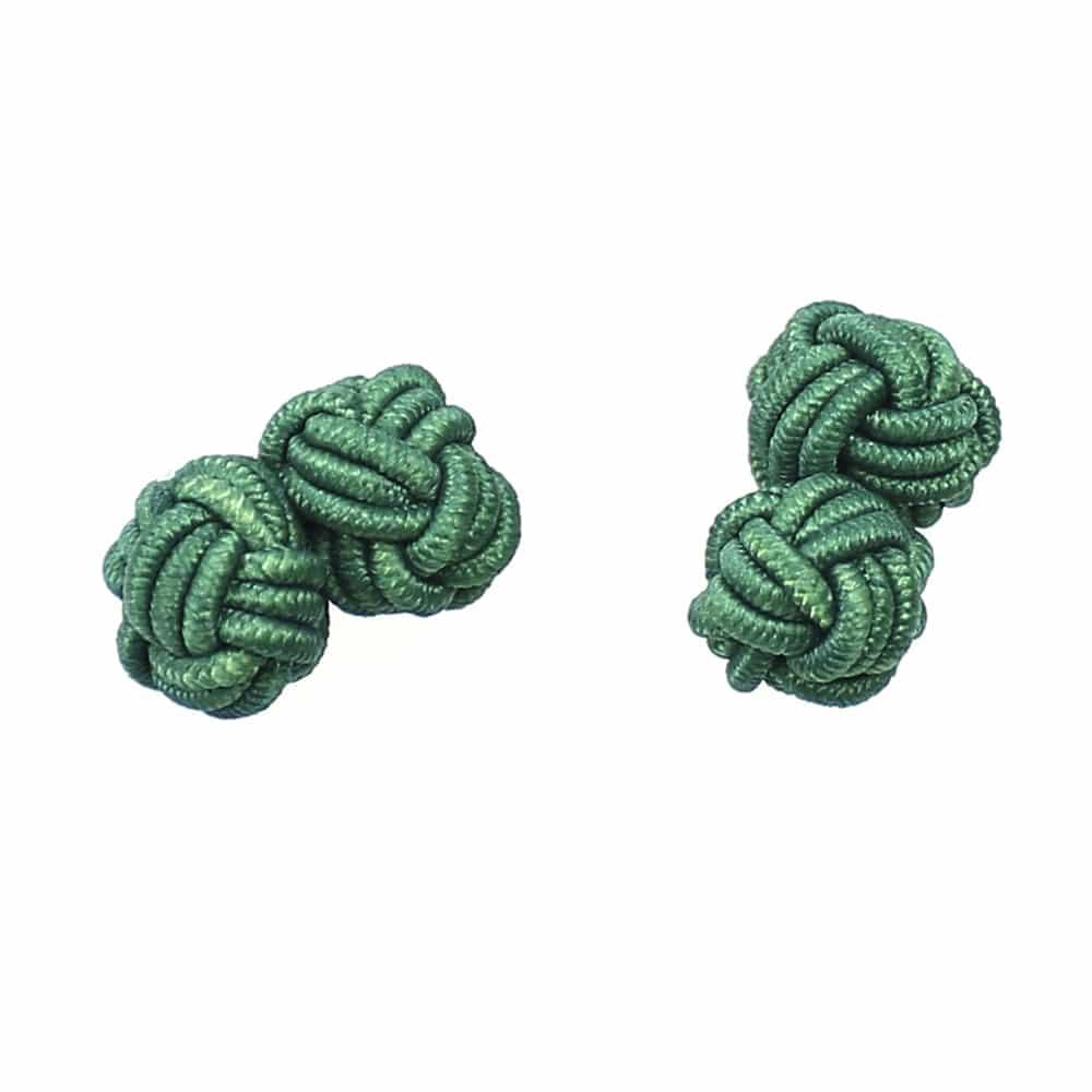 gemelos bola verde medio