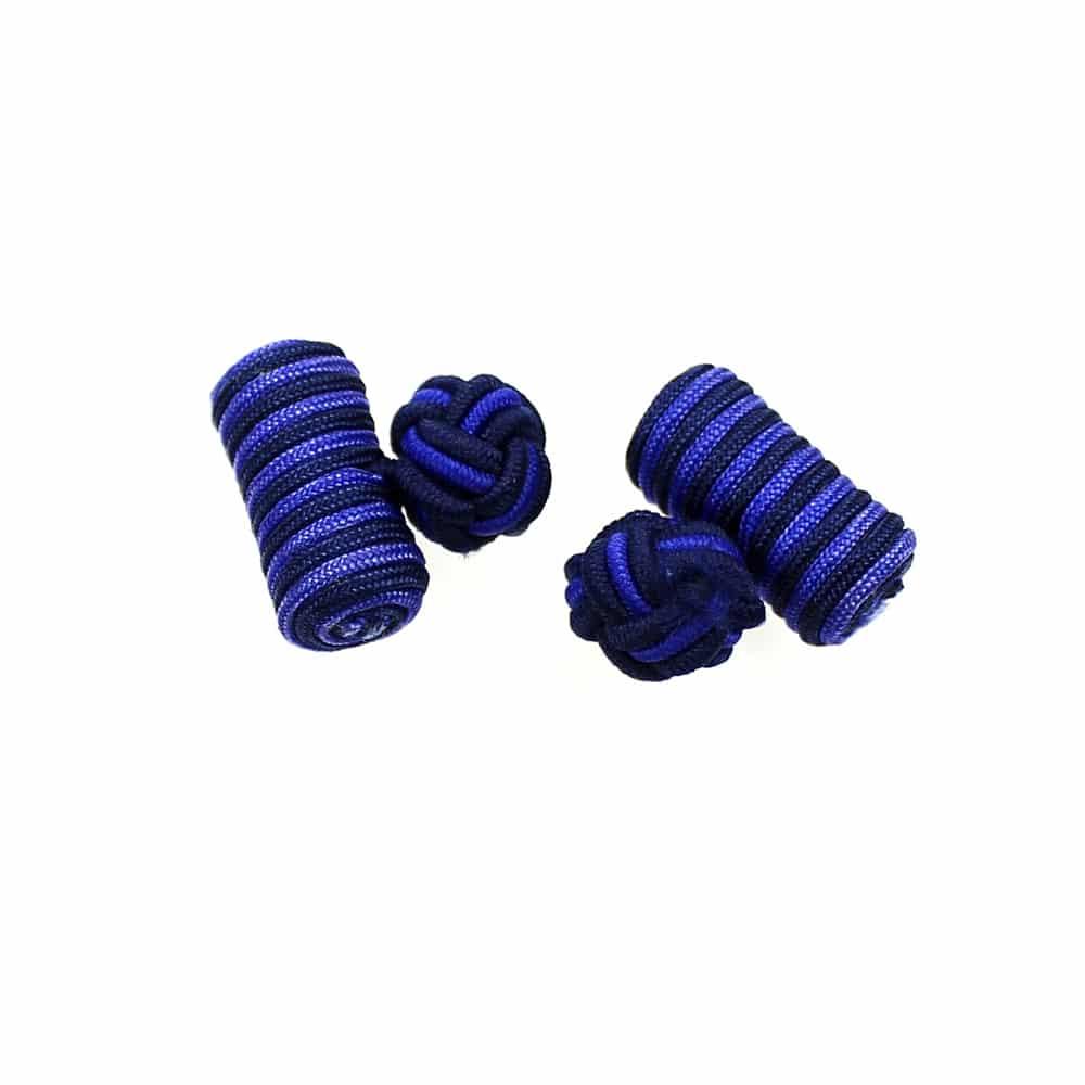 gemelos cilindro azul marino