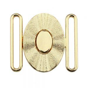 hevilla oval 60 mm metal oro