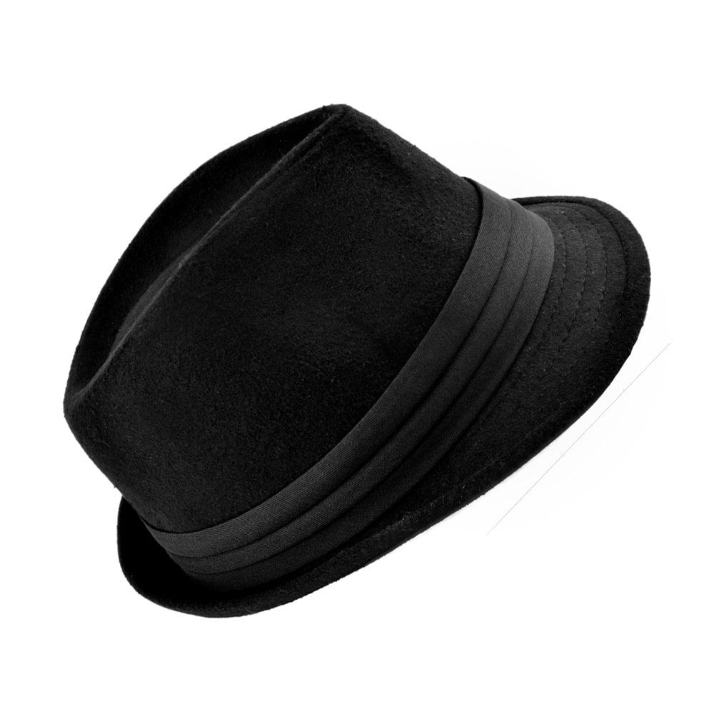 mascota fieltro negro