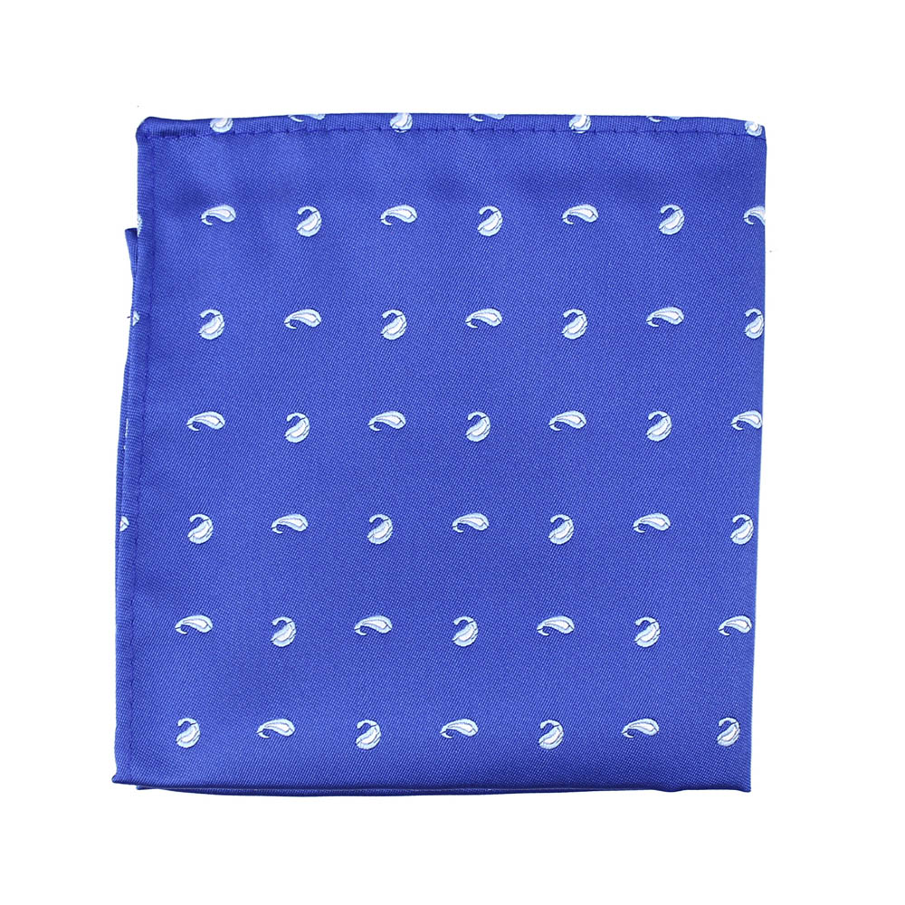 pañuelo cachemir azul klein