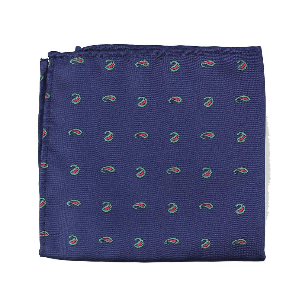pañuelo cachemir azul marino