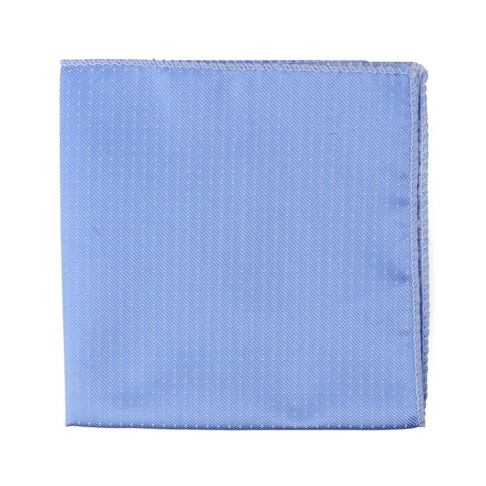 pañuelo lunares azul claro