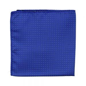 pañuelo lunares azul klein